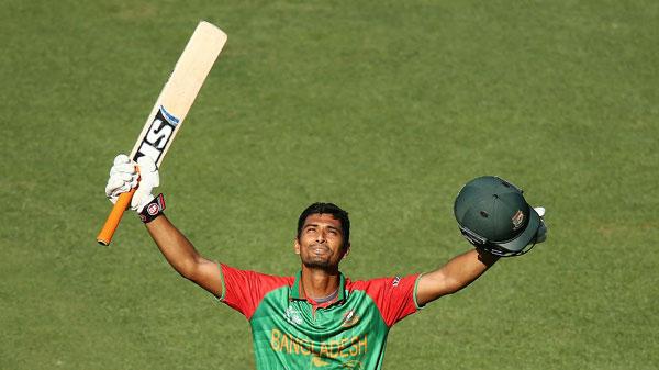 Mahmudullah hits first WC century for Bangladesh