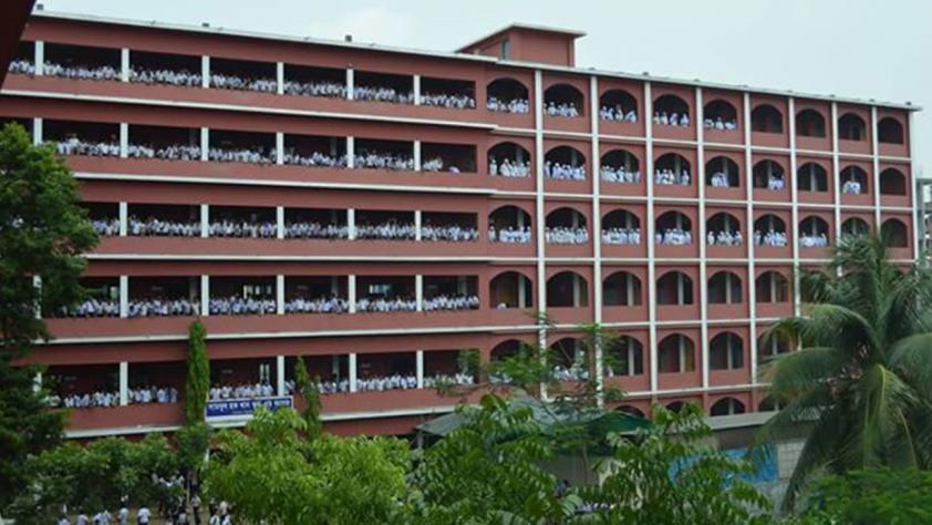 Shamsul Hoque Khan School top....... in Dhaka broad