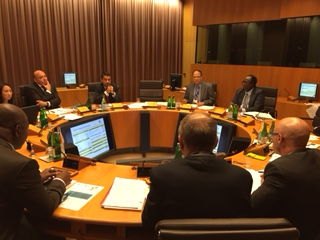 Bangladesh Bank Governor meeting with AFI at Switzerland