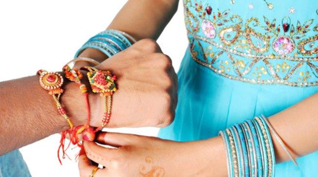 celebrates Raksha Bandhan