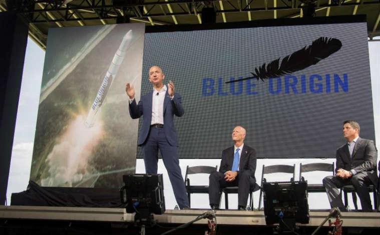 Amazon founder Jeff Bezos announces plans to manufacture rockets