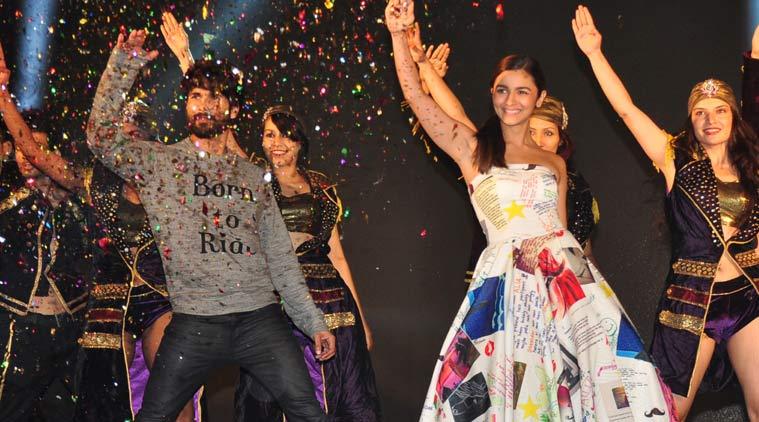 Shahid Kapoor, Alia Bhatt launch 'Shaandaar'