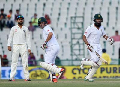 SA Elgar deceived India in first Test