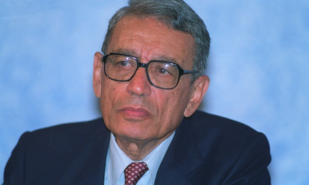 The death of former chief Boutros-ghali UN