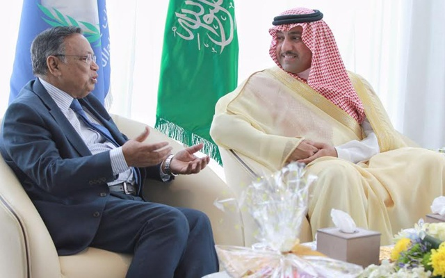 Foreign Minister meets King Abdullah Foundation trip in Saudi Arabia, Prince Turkey