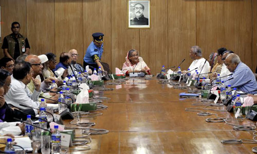 Hasina praised Bangladesh bowling sensation Mustafizur