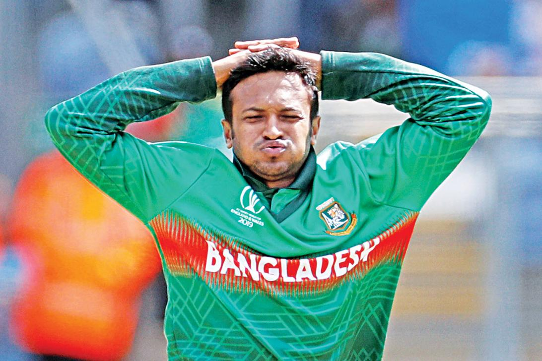 Shakib Ranking position change