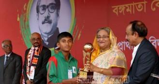 Hasina urges teachers to promote sports