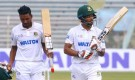 Bangladesh ended the first day of the unbeaten century